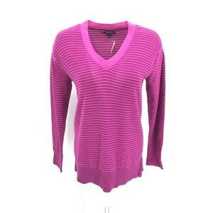 Tommy Hilfiger Long Sleeve Striped Sweater Sz M